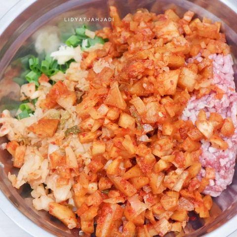 Kimchi mandu. (Foto: Instagram @lidyatjahjadi)