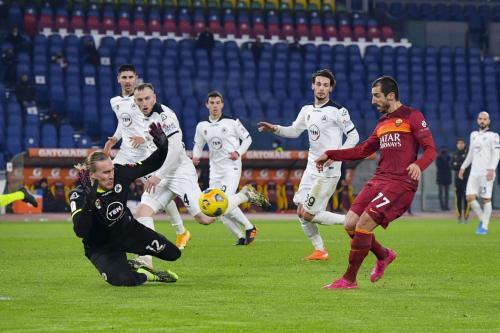 AS Roma vs Spezia