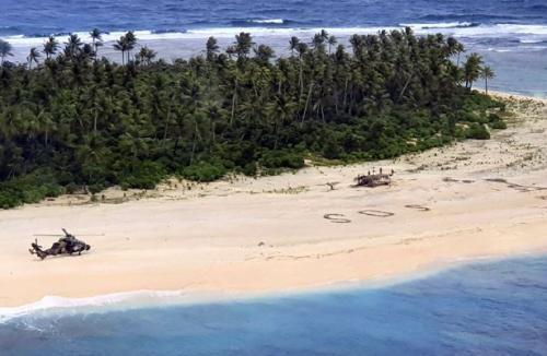 Kode SOS di pulau terpencil