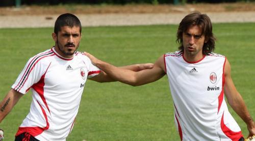 Gennaro Gattuso dan Andrea Pirlo