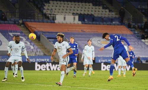 Leicester City vs Chelsea (Foto: Reuters)