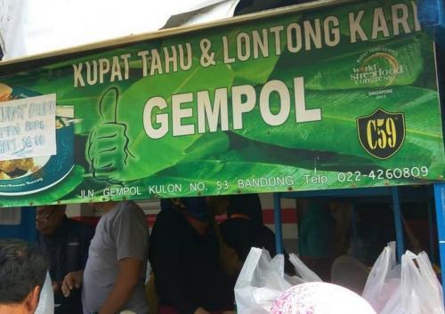 Kupat Tahu Gempol