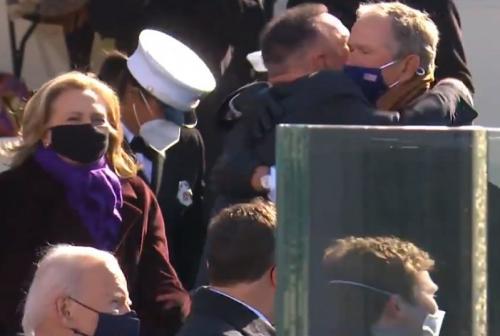 Garth Brooks dan George Bush