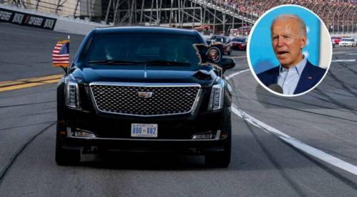 Mobil Joe Biden