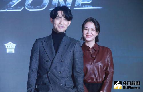 Vic Chou dan Sandrine. (Foto: NOW News)