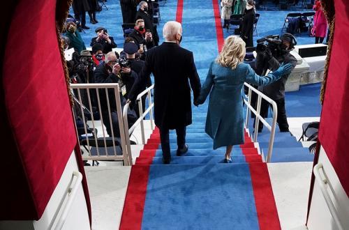 Joe Biden dan istri