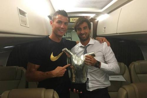 Cristiano Ronaldo dan Miguel Paixao
