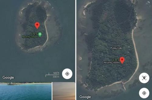Sinyal SOS di Pulau Laki