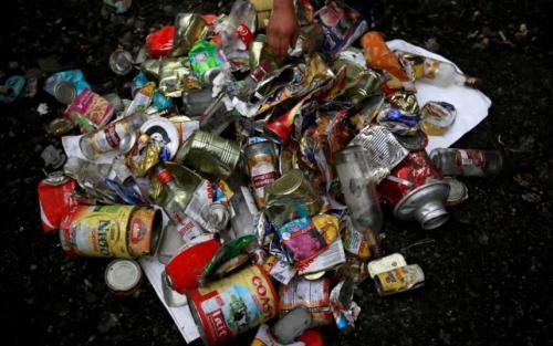 Sampah di Everest