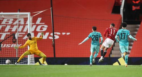 Man United vs Liverpool (Foto: Reuters)
