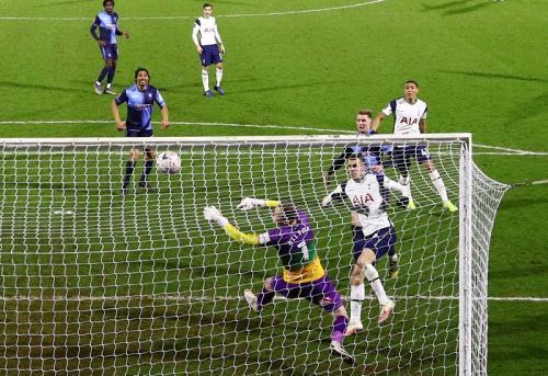 Tottenham Hotspur saat hadapi Wycombe