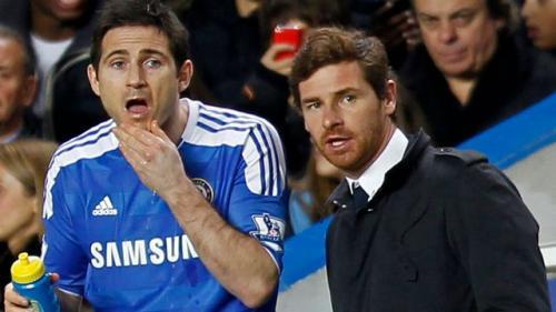 Frank Lampard dan Andre Villas-Boas