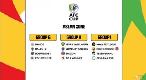 Grup zona ASEAN Piala AFC 2021 (Foto: YouTube/The AFC Hub)
