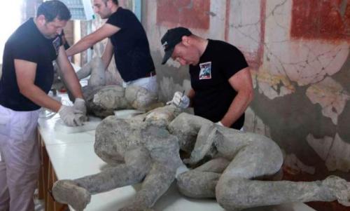 Temuan jasad di Pompeii