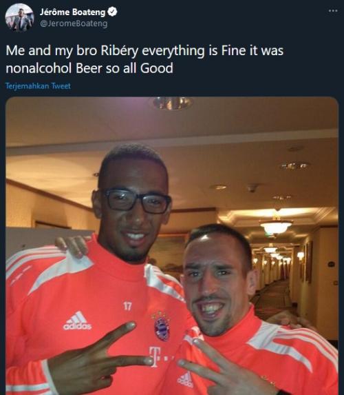 Jerome Boateng dan Franck Ribery