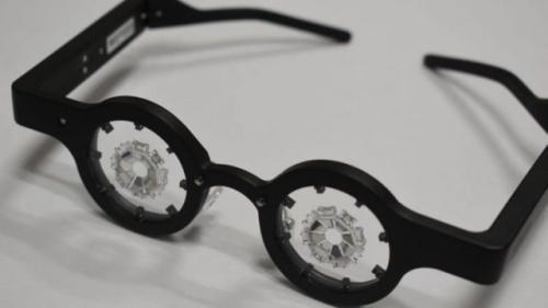 Kacamata pintar Kubota. (Foto: Kubota Pharmaceutical/Oddity Central)