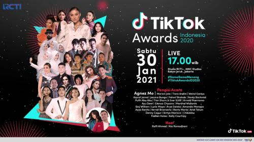 TikTok Awards Indonesia 2020.