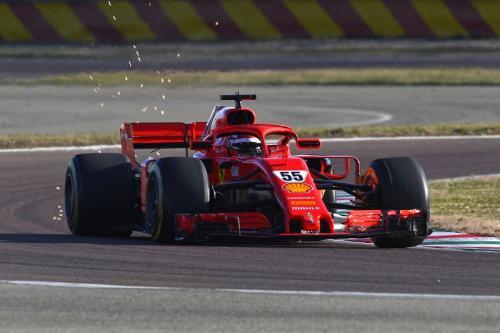 Carlos Sainz Jr melaju di Fiorano (Foto: Scuderia Ferrari)