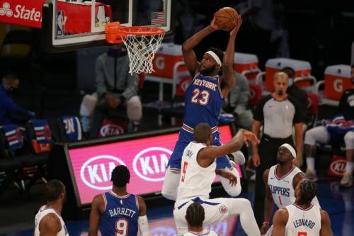 New York Knicks vs LA Clippers
