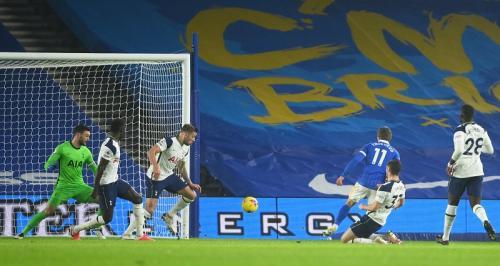 Brighton & Hove Albion kalahkan Tottenham Hotspur (Foto: Reuters/Mike Hewitt)