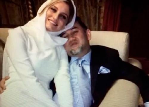 Diana Petra dan Mantan Raja Malaysia