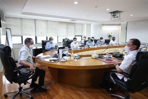 Pertemuan PSSI dan Menpora