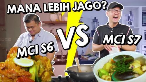 Adu masak Jerry Andrean vs Eric Herjanto. (Foto: YouTube StarHits)