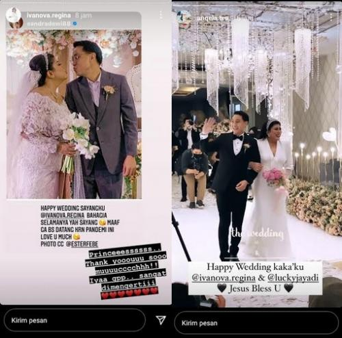 Pernikahan Regina Ivanova