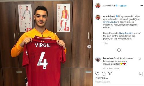Ozan Kabak (Foto: Instagram/@ozankabak4)