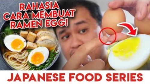 Eric MCI 6 berbagi tips membuat telur rebus yang meleleh di mulut. (Foto: YouTube Eric Herjanto)