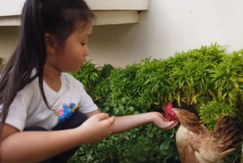 Thalia Putri Onsu. (Foto: YouTube/MOP Kids)