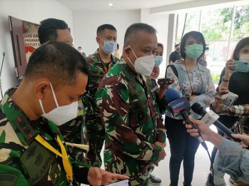 Kepala Staf Kodam Jaya selaku Wapangkogasgabpad Rumah Sakit Darurat Covid-19 Wisma Atlet Kemayoran, Brigjen TNI M Saleh Mustafa. (Ist)