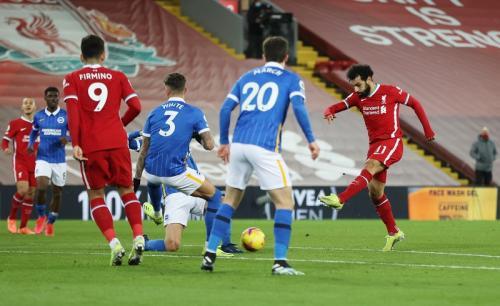 Mohamed Salah tak mampu mencetak gol (Foto: Reuters/Phil Noble)