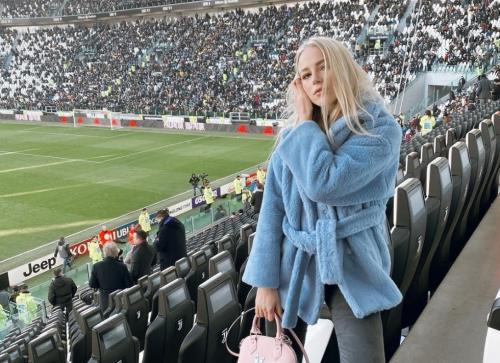 Hasil gambar untuk Ivana Nedved allianz stadium
