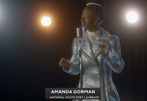 Amanda Gorman di Super Bowl ke-55
