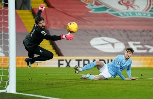 Kualitas rumput di Anfield lebih bagus (Foto: Reuters)