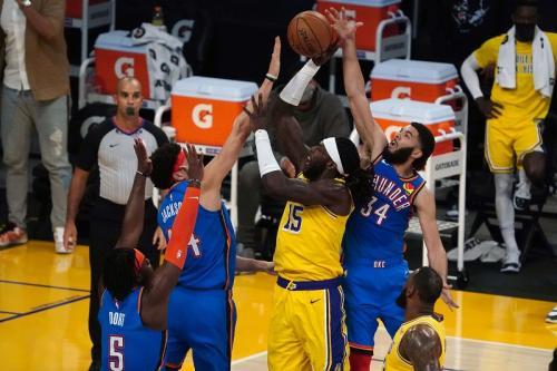 LA Lakers vs Oklahoma City Thunder