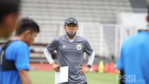 Shin Tae-yong (Foto: PSSI)