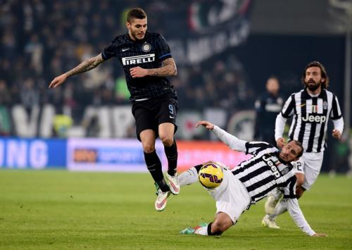 Mauro Icardi jadi pencetak gol terakhir Inter Milan di markas Juventus (Foto: Twitter/@OptaPaolo)