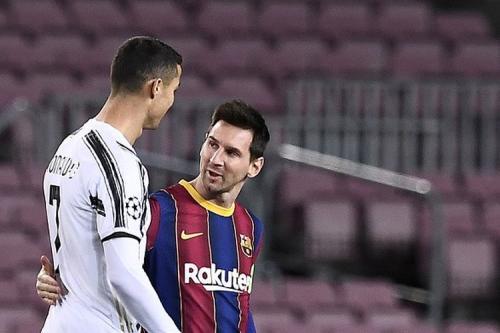 Lionel Messi dan Cristiano Ronaldo