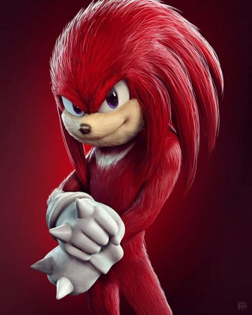 Knuckles the Echidna.