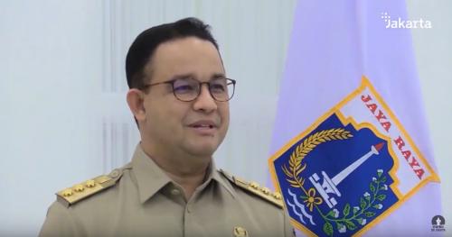 Gubernur DKI Jakarta Anies Baswedan. (Foto: YouTube Pemprov DKI Jakarta)