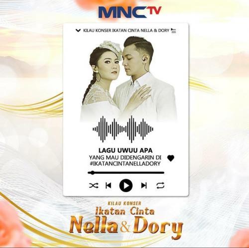 Kilau Konser Ikatan Cinta Nella & Dory. (Foto: MNC Media)