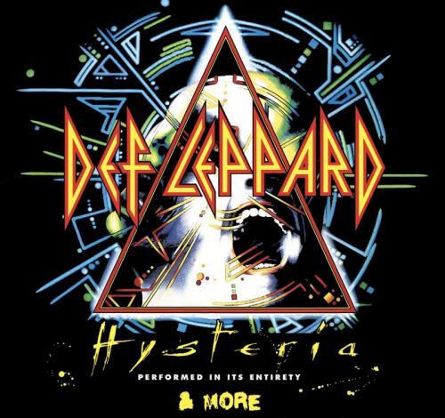 Def Leppard-album 'Hysteria'.