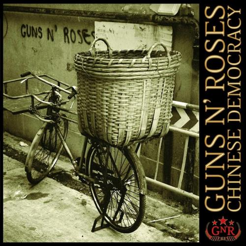 Guns N' Roses-album Chinese Democracy.