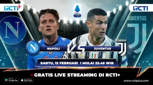 Napoli vs Juventus live di RCTI+