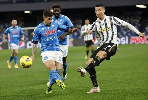 Cristiano Ronaldo vs Napoli