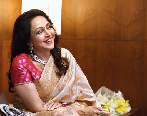Hema Malini. (Foto: Telegraph India)