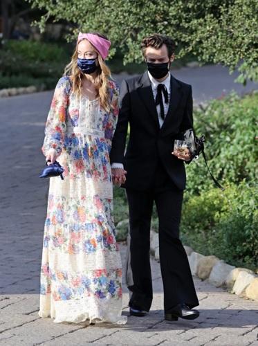 Olivia Wilde dan Harry Styles. (Foto: BACKGRID)