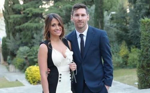 Antonella Roccuzzo dan Lionel Messi (Foto: Instagram/@antonelaroccuzzo)